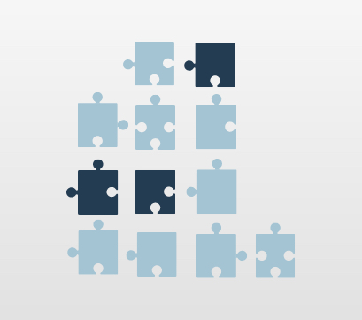 bad data quality visualized with puzzle pieces